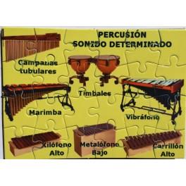 Puzzle Percusión sonido determinado