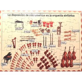 Puzzle Orquesta sinfónica