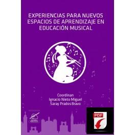 Experiencias para nuevos espacios de aprendizaje en Ed. Musical PDF