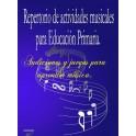 Repertorio de actividades musicales para Ed. Primaria