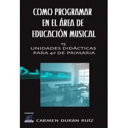 Cómo programar en el Área de Educación Musical