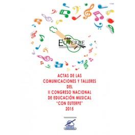 """Actas """"II Congreso Nacional de Educación Musical"""""""